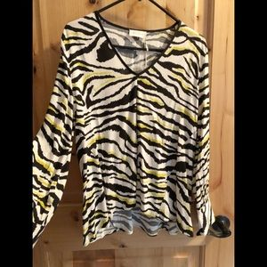 Pretty Zebra Blouse